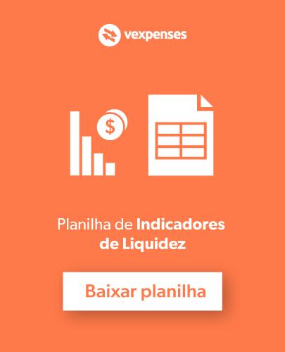 Planilha de indicadores de liquidez