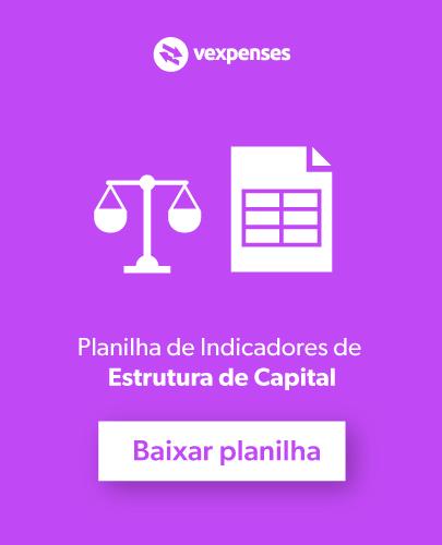 planilha de indicadores de estrutura de capital