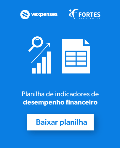 planilha de indicadores de desempenho financeiro